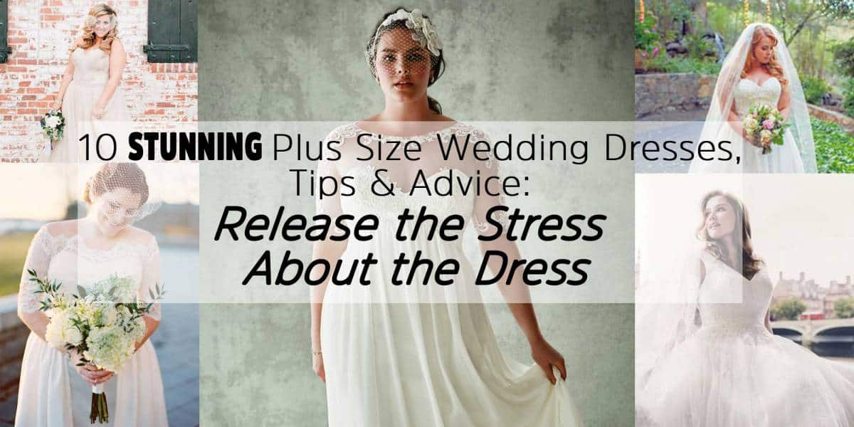 10 Stunning Plus Size Wedding Dresses Tips Advice Release The
