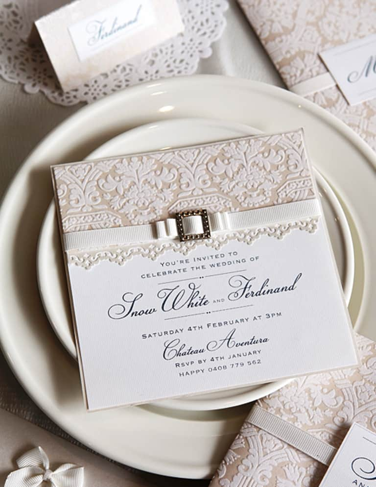 DIY Wedding Decorations For Every Budget - Classic Wedding Invitation