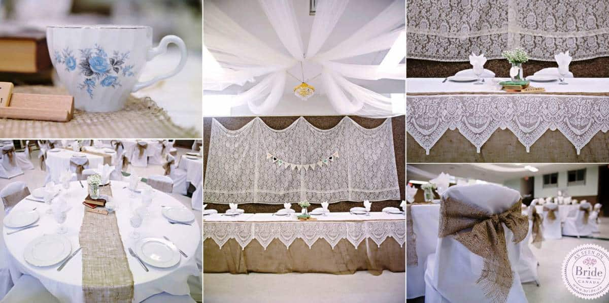 DIY Wedding Decorations For Every Budget - Vintage Lace Table Decor