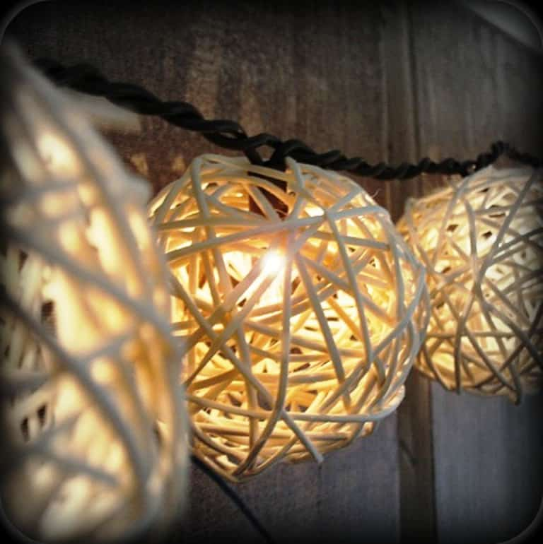 DIY Wedding Decorations For Every Budget - Patio Lights