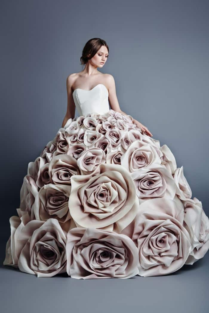 utterly different wedding dresses - absolute romance