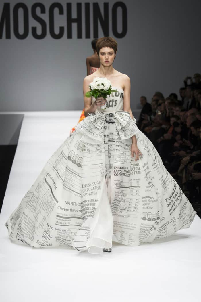 utterly different wedding dresses - wrapped in letters