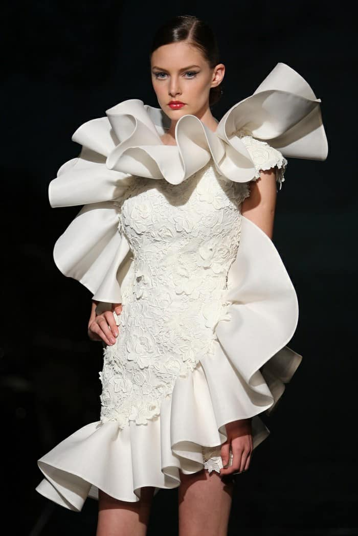 Utterly Different Wedding Dresses - Ruffle Masterpiece