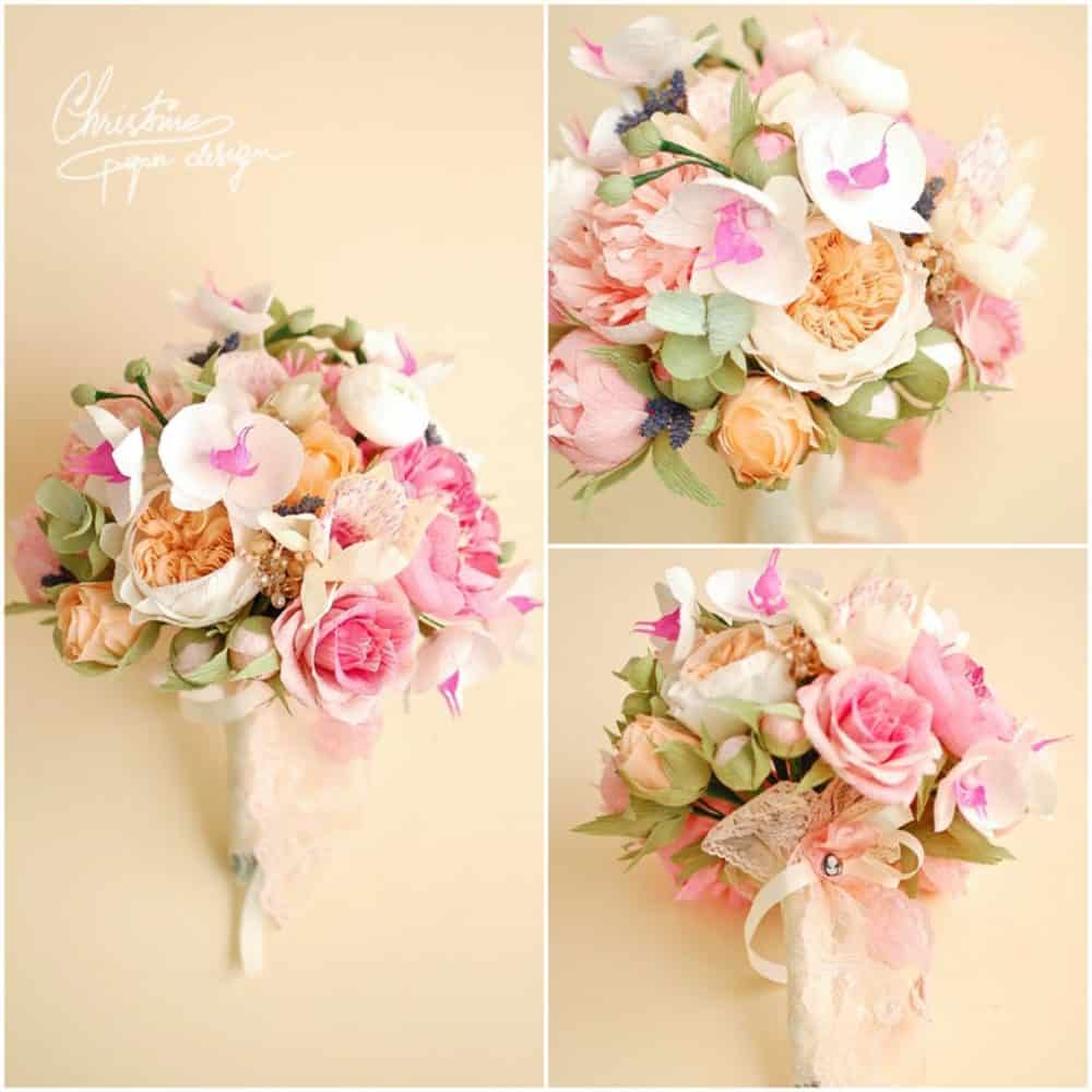 Amazingly Beautiful Paper Wedding Flowers You Have to See