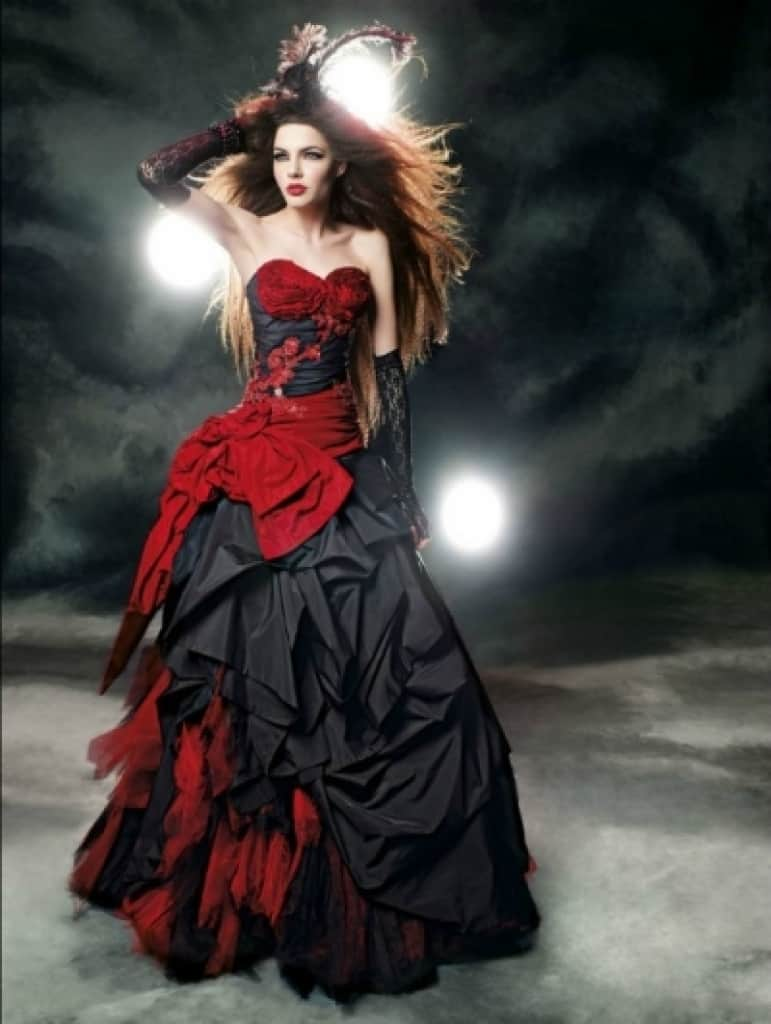 Black Gothic Wedding Dresses for Black Gothic Wedding Dresses