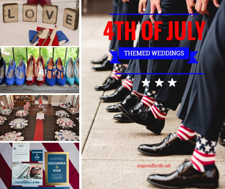 4th of July Themed Weddings