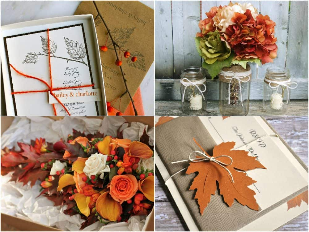 10 Unique Fall Wedding Color Palettes
