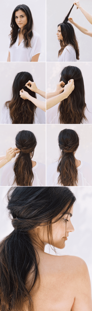 10 Easy Elegant Wedding Hairstyles That You Can Diy The Inspired Bride
