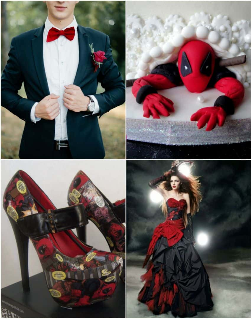 Nerd Alert: Deadpool Wedding Theme Inspiration