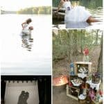 Styled Shoot: Camping Trash the Dress