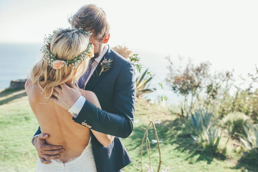 Whimsical Boho Big Sur Wedding
