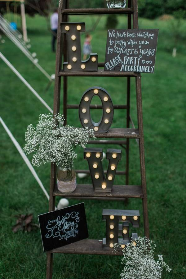 Backyard DIY Wedding in Maine