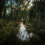 Eerie Bridal Portraits