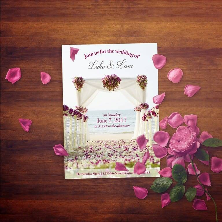 Print Your Own Wedding Invitations: How To Design And Print Your Own Wedding Invitations