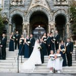 Navy & White Military Wedding