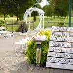 DIY Rustic Golf Course Wedding