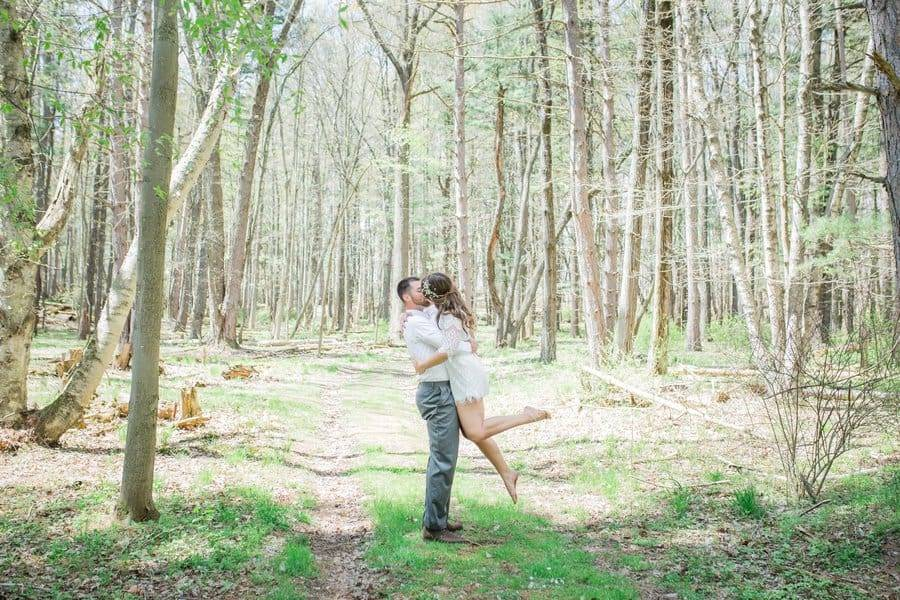 Styled Shoot | Romantic Woodland Wedding