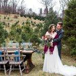 Styled Shoot   Marsala, Blue and Gold
