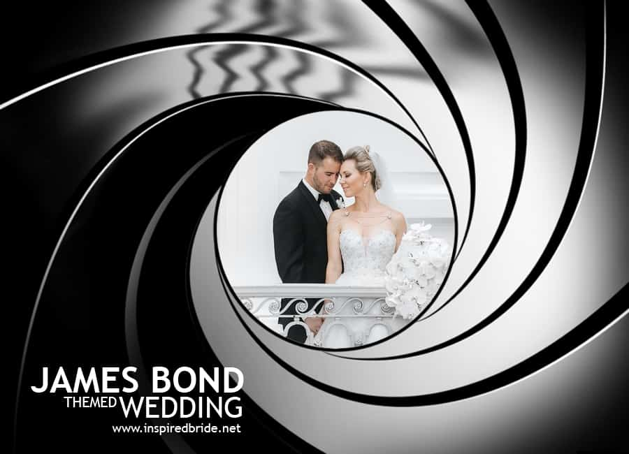 James Bond Themed Wedding