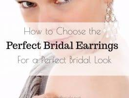 Perfect Bridal Earrings