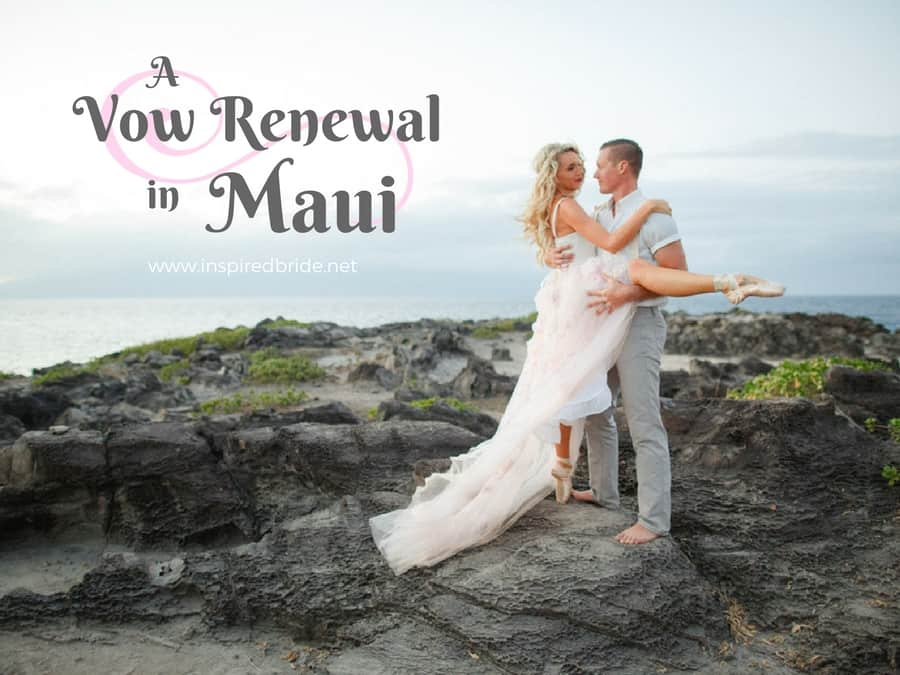 A Vow Renewal in Maui