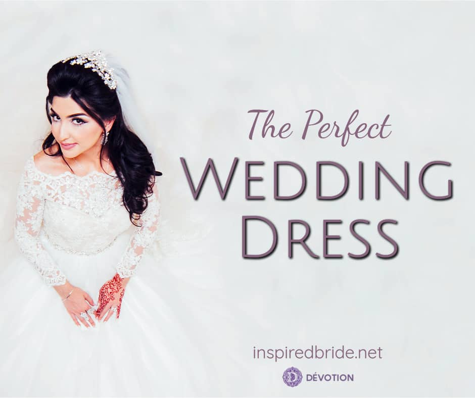 A Perfect Wedding Dress From Devotion Dresses