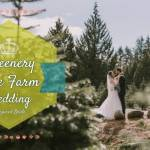 Greenery Tree Farm Wedding