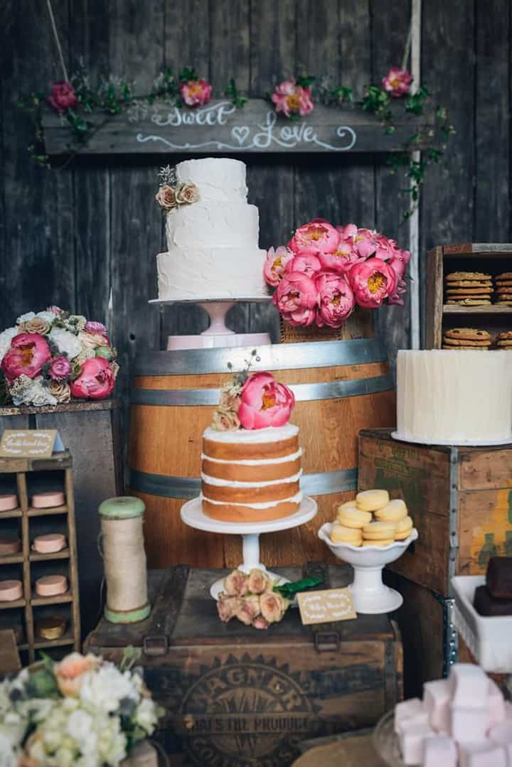 6 Delicious Desert Alternatives For A Rustic Chic Wedding