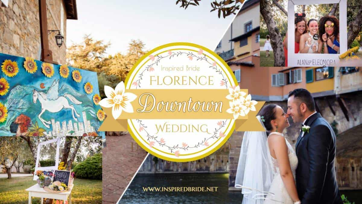 Florence Downtown Wedding