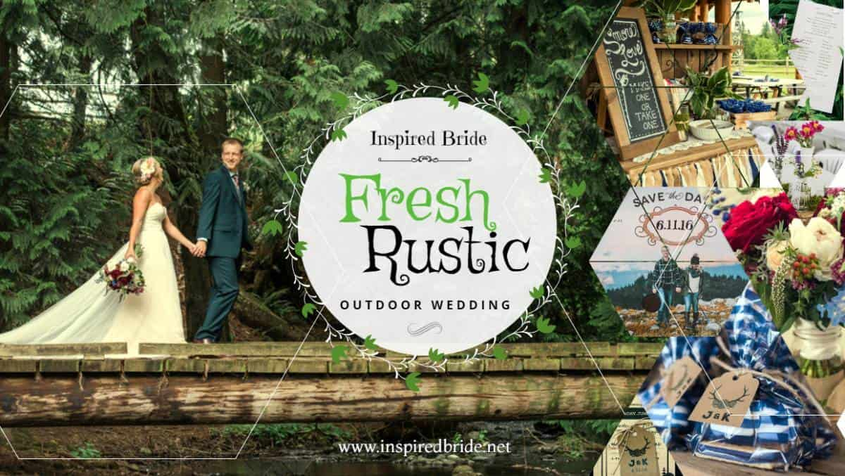 Fresh Rustic Outdoor Wedding