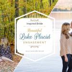 Beautiful Lake Placid Engagement