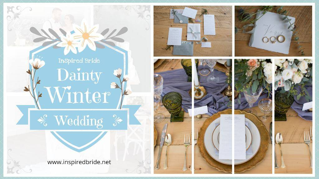 Dainty Winter Wedding Inspiration