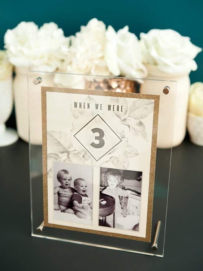 X Ways to Display Family Photos at Your Wedding