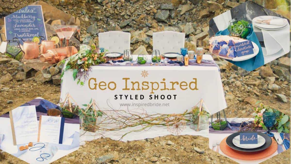 Geo Inspired Styled Shoot