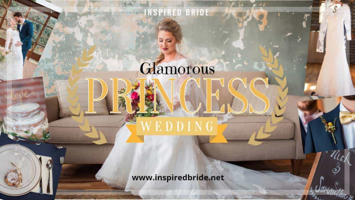 Glamorous Princess Bride Wedding