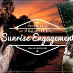Beautiful Sunrise Engagement