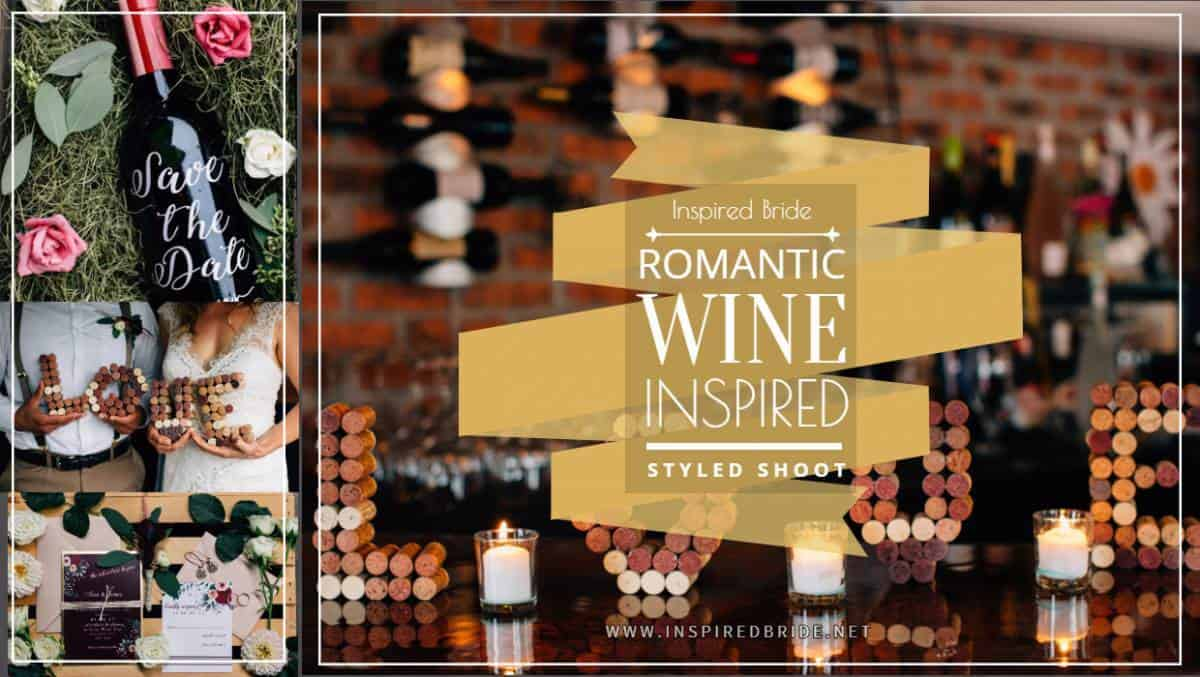 Romantic Wine Inspired Styled Shoot