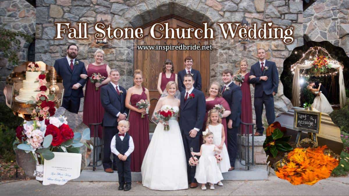Fall Stone Church Wedding