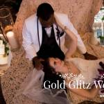 Gold Glitz Wedding at the Mariott