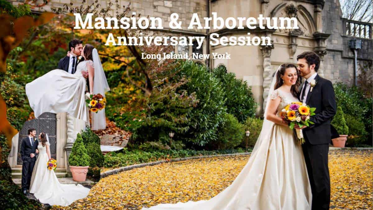 Mansion and Arboretum Anniversary Session