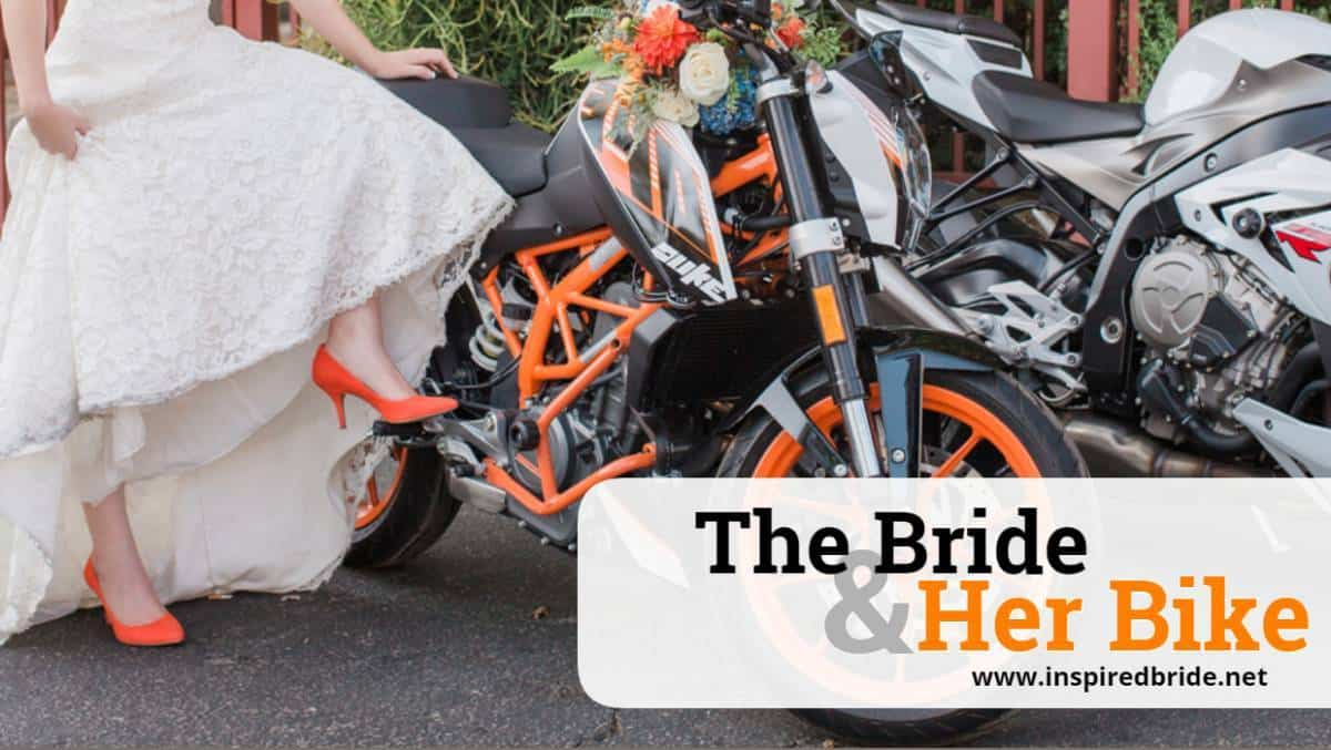 The Bride and Her Bike