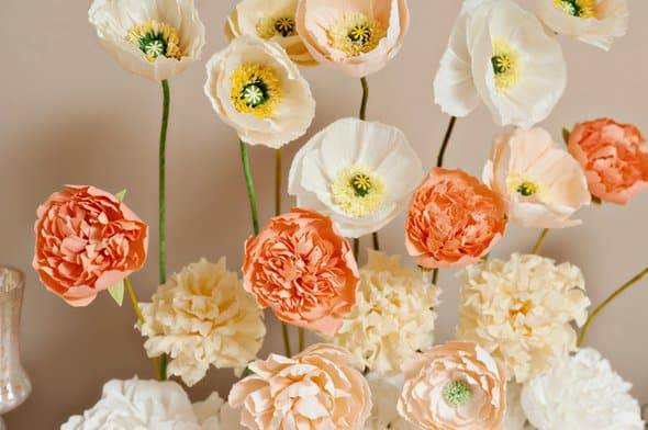 7 Paper Flowers We Love