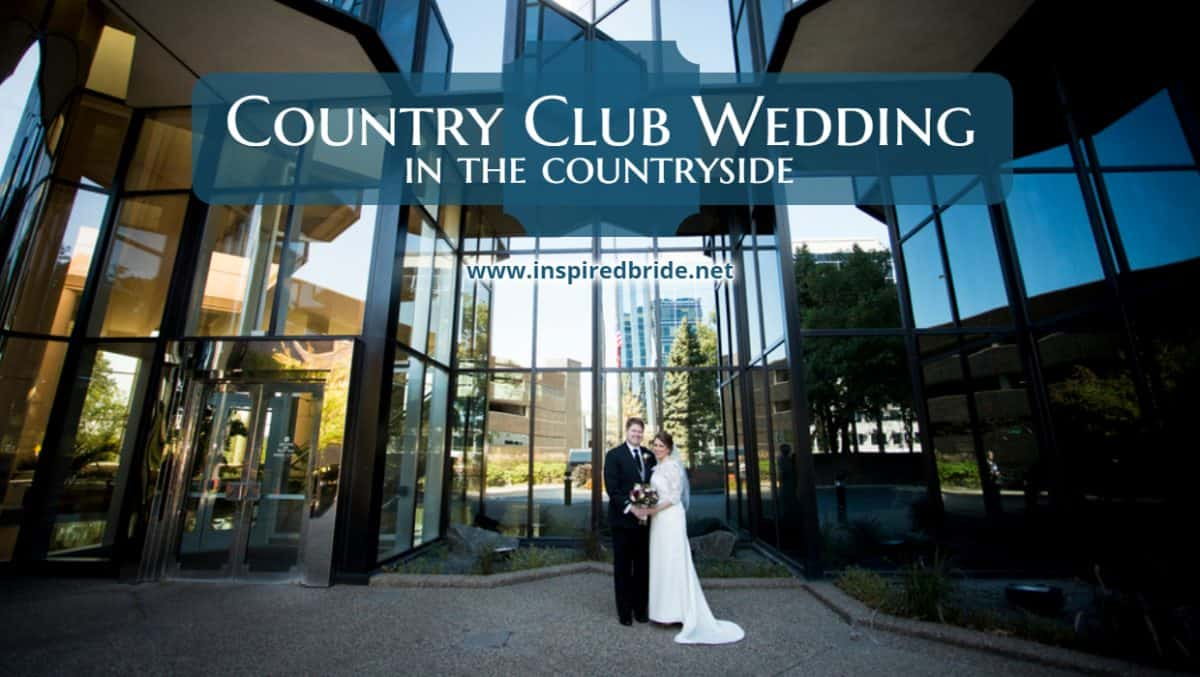 Country Club Wedding in the Countryside