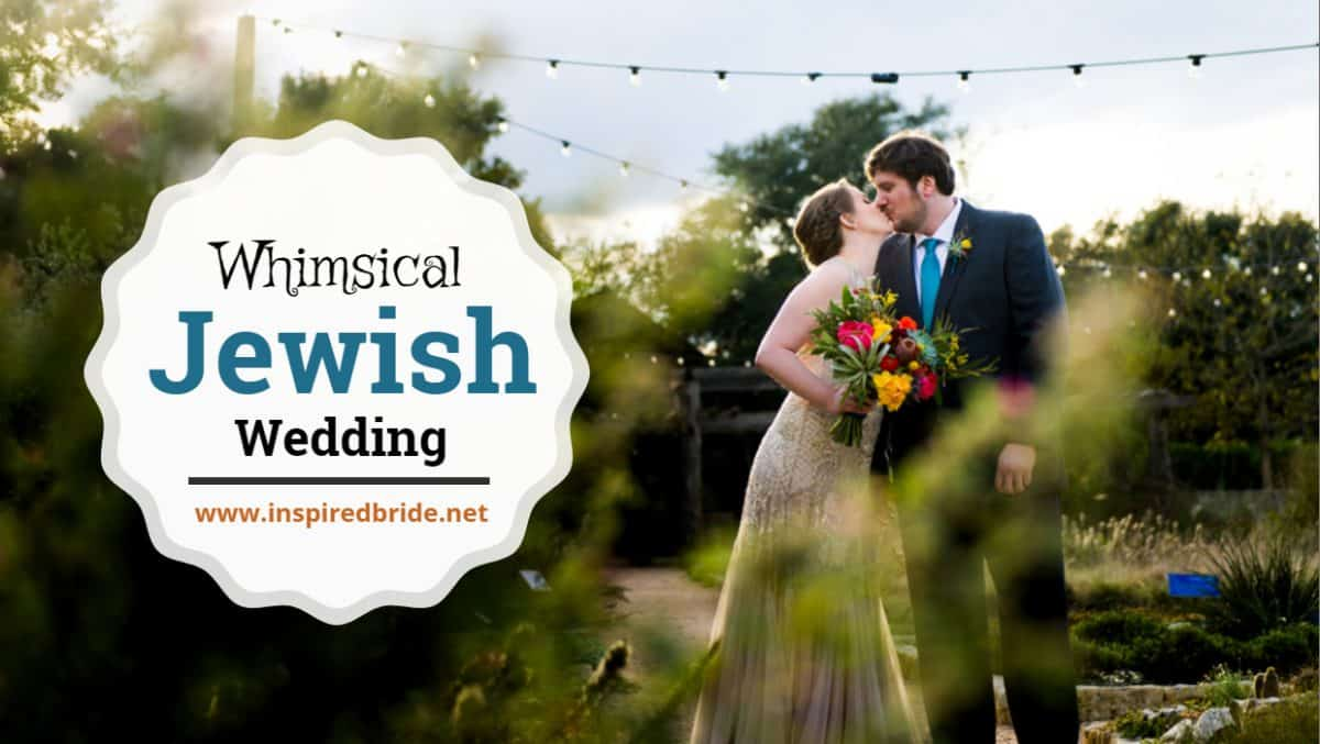 Whimsical Jewish Wedding