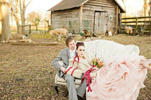 Rustic Valentine's Shoot by Andie Freeman Photography