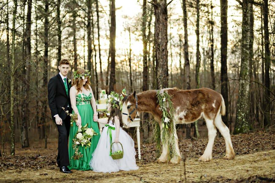 Bohemian St. Patrick's Day Shoot by Andie Freeman Photography