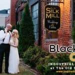 Black & Gold Industrial Wedding at The Old Silk Mill