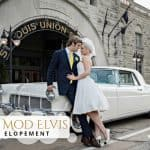 Vintage Mod Elvis Wedding Elopement