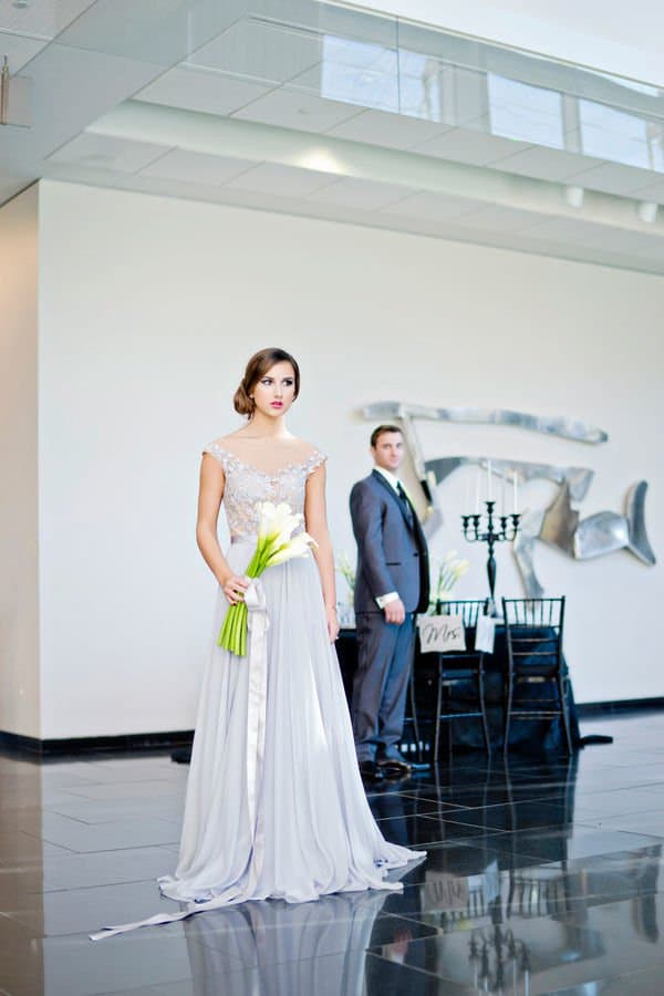 Grey and White Modern Styled Shoot by Andie Freeman Photography
