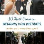 10 Common Wedding Vow Mistakes You'll Want to Avoid